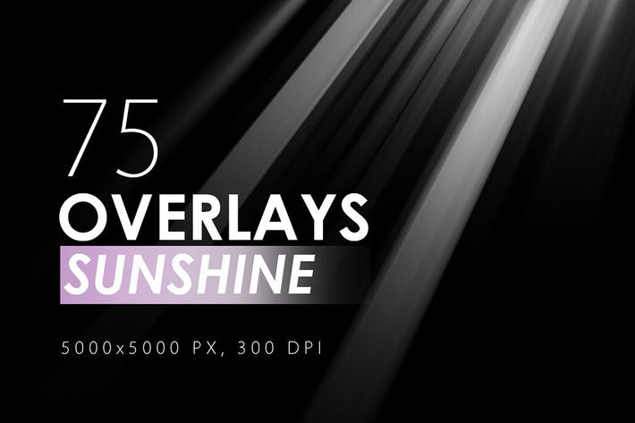 Thumbnail for 75 Sunshine Overlays