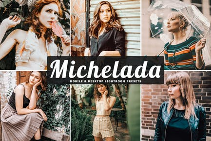 Michelada Mobile & Desktop Lightroom Presets