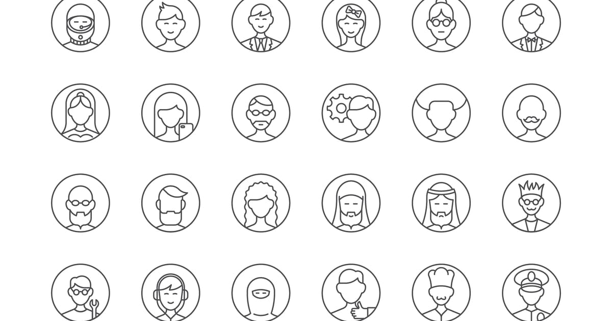 Download 39 User Avatars Icons by polshindanil