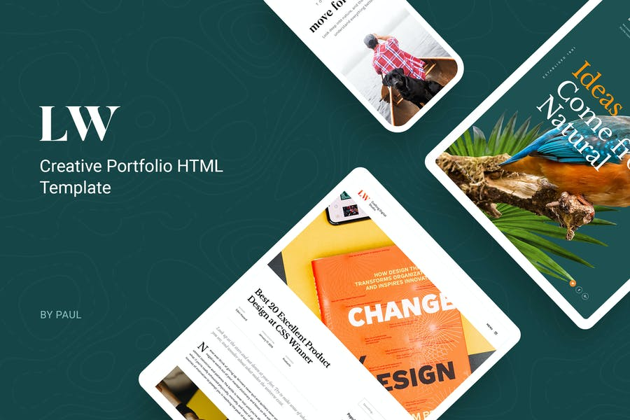 Lewis - Creative Portfolio & Agency HTML Template