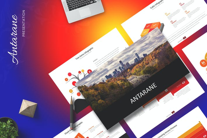 Antarane - Powerpoint Template