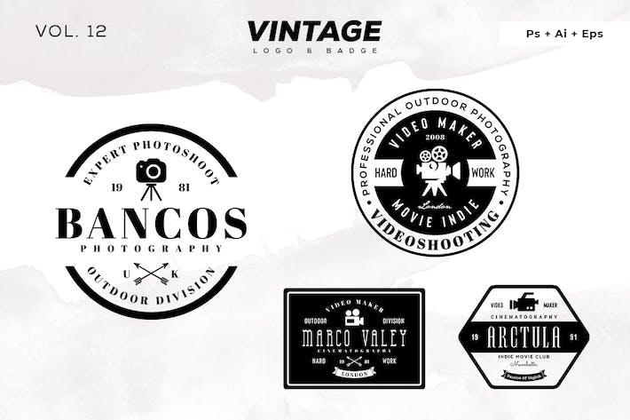 Thumbnail for Vintage Logo & Badge Vol. 12
