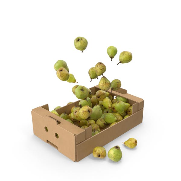 Thumbnail for Cardboard Box With Taylors Gold Pear Flying