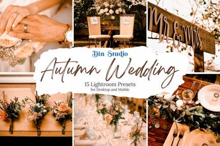 Autumn Wedding Lightroom Presets
