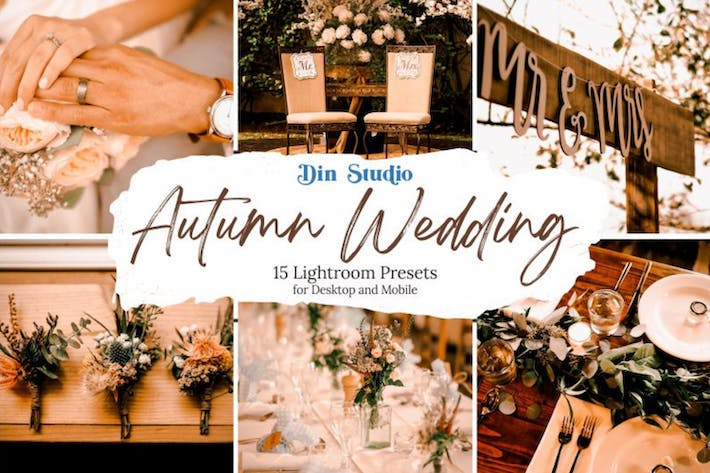 Thumbnail for Autumn Wedding Lightroom Presets