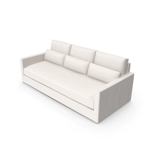Transitional 3 Seater Sofa