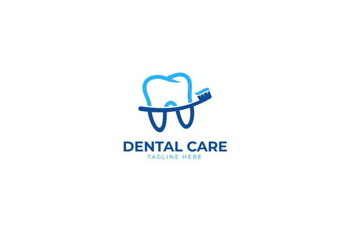 Dental Tooth Care Logo Template