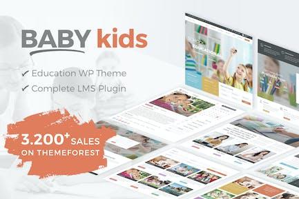 Baby Kids - School WordPress Theme