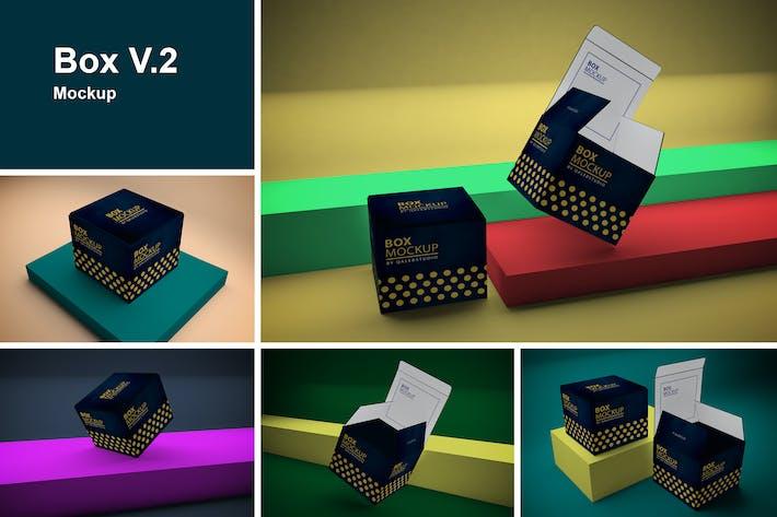 Cover Image For Box Mockup V.2