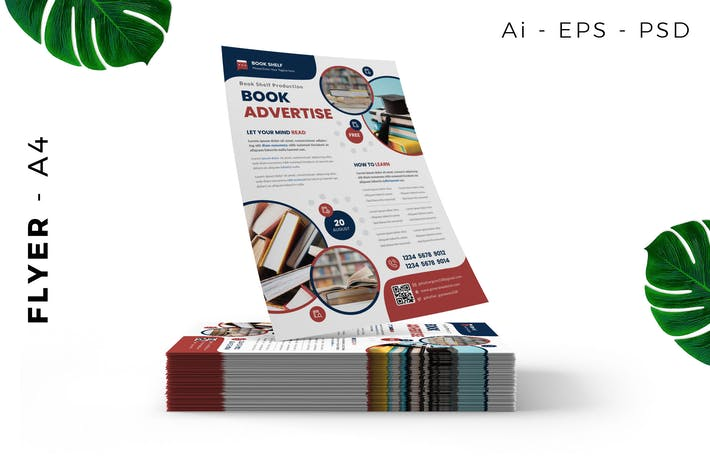 Book Launching / Store Flyer Design