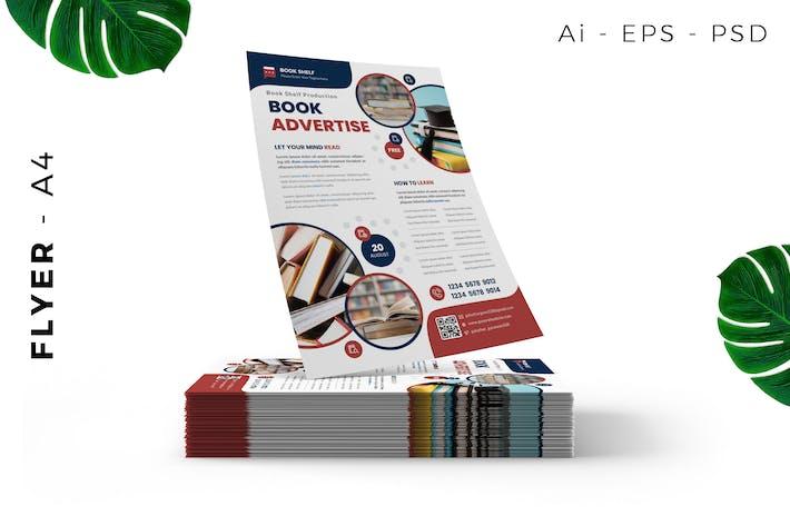 Buchpräsentation/ Store Flyer Design