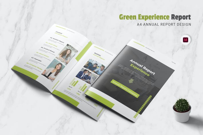 Thumbnail for Green Experience Annual Report