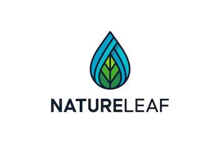 Logo Feuille Nature