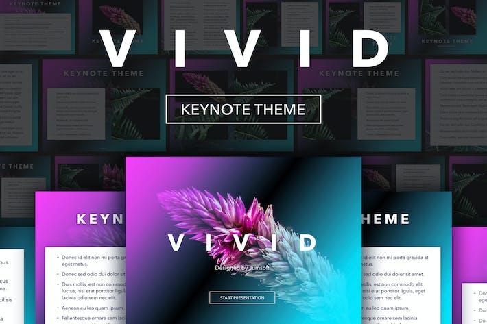 Cover Image For Vivid Keynote Theme