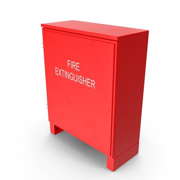 Dual Fire Extinguisher Fibreglass Cabinet