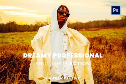 Dreamy Professional Photoshop Action