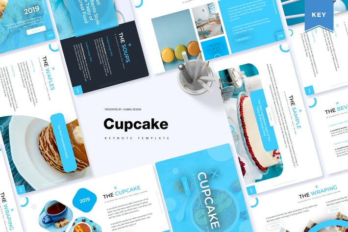 Thumbnail for Cupcake | Keynote Template