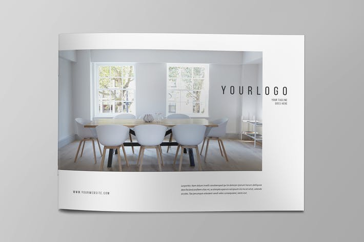 Cover Image For Minimal Interior Design Brochure