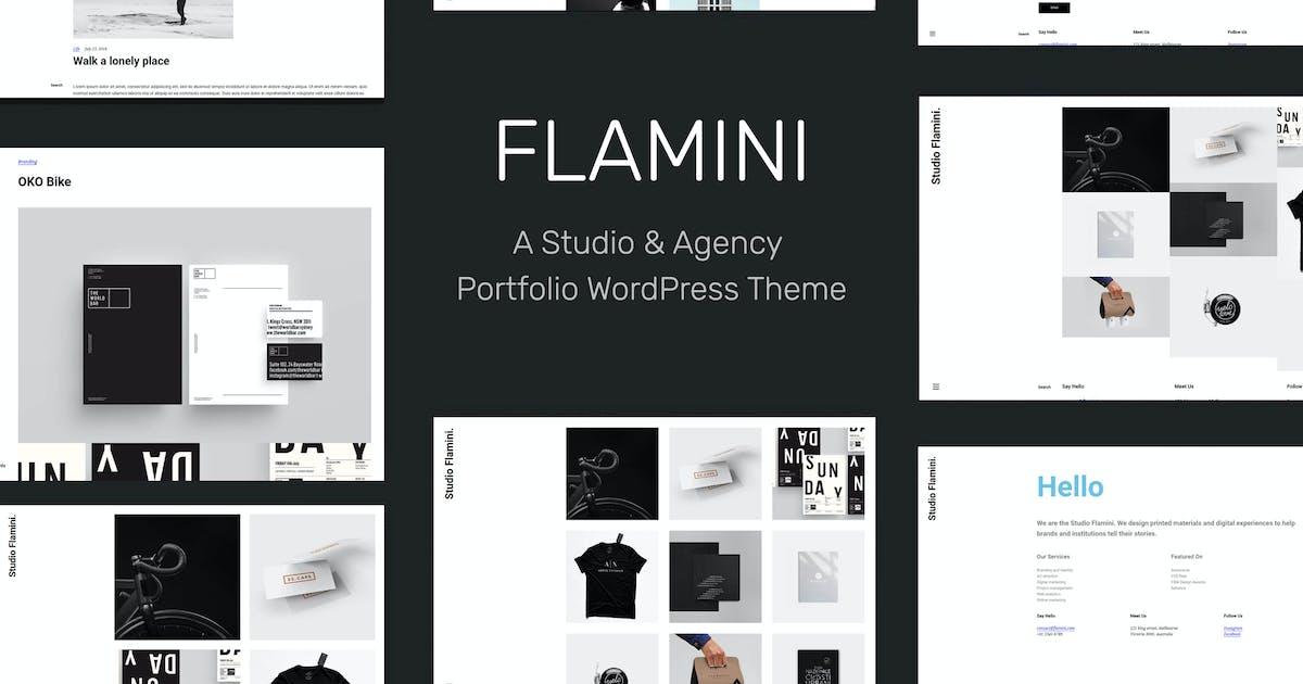 Download Flamini - Studio/Agency Portfolio WordPress Theme by tommusrhodus