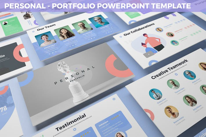 Thumbnail for Personal - Portfolio Powerpoint Template