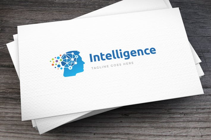Thumbnail for Intelligence Logo Template