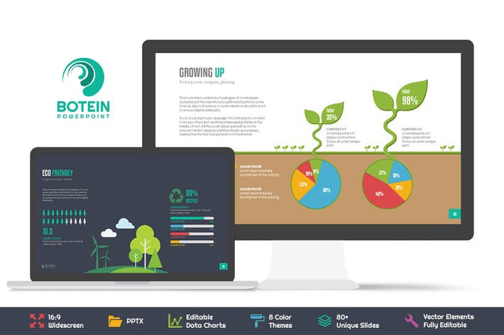 Thumbnail for Botein Powerpoint Template