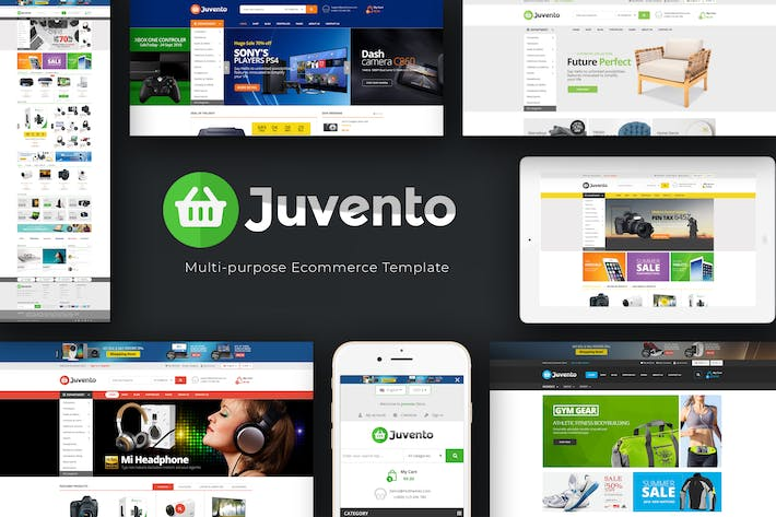 Thumbnail for Juvento - Responsive Prestashop Theme