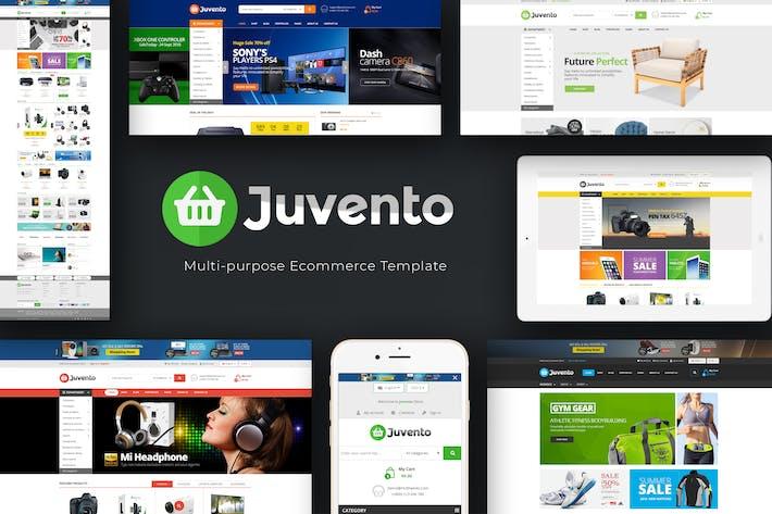 Thumbnail for Juvento - Responsivo Prestashop Tema