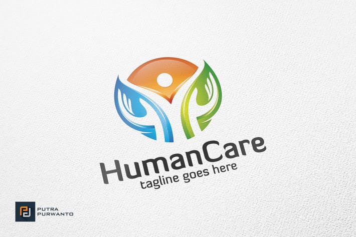 Thumbnail for Human Care - Logo Template