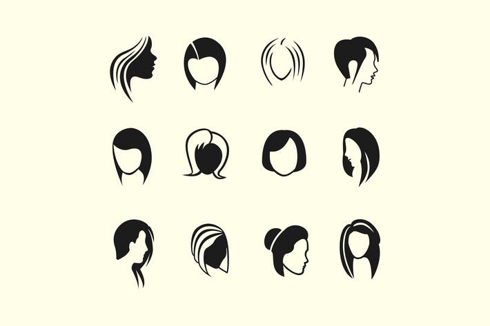 Cover Image For 12 Abstract Women Icons