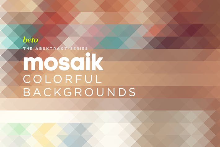 Thumbnail for Mosaik Colorful Backgrounds V3