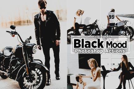 Чёрное настроение Photoshop