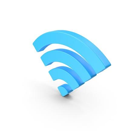 Значок веб-сигнала Wifi