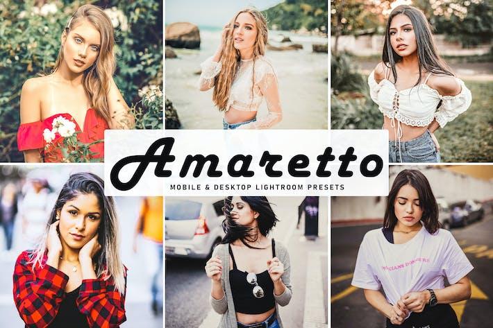 Thumbnail for Amaretto Mobile & Desktop Lightroom Presets