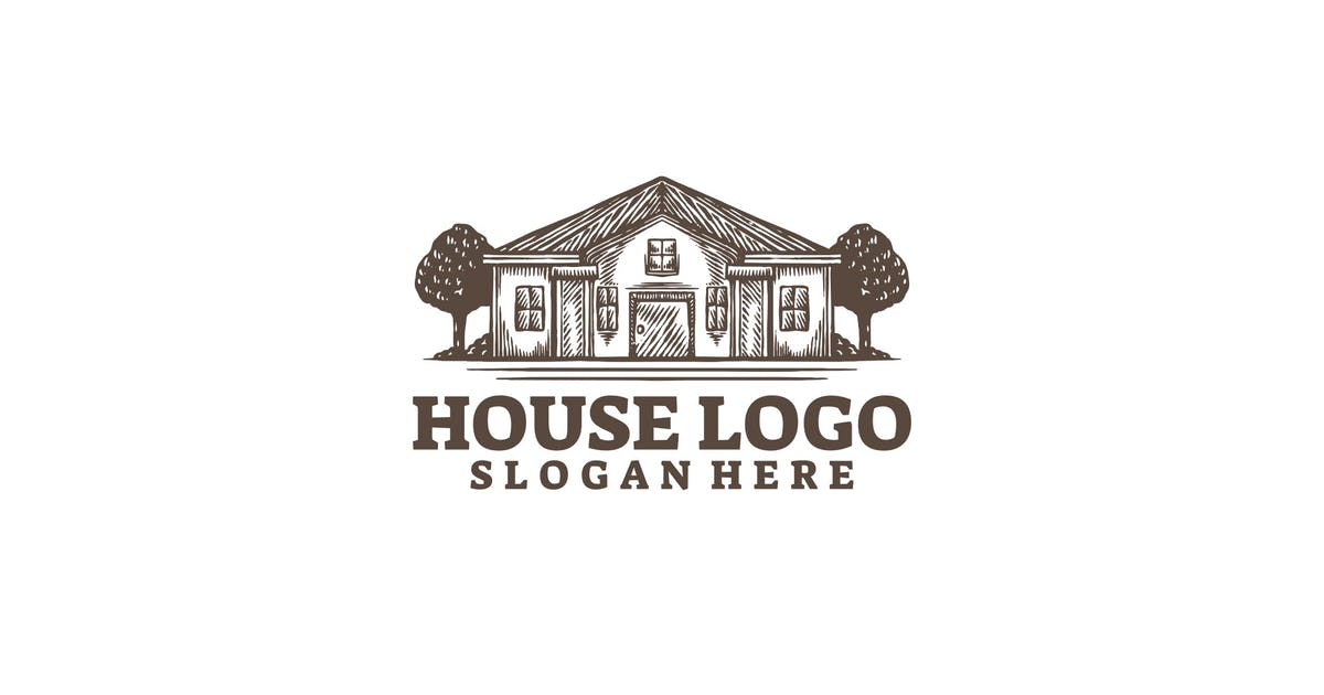Download House logo template by Ary_Ngeblur