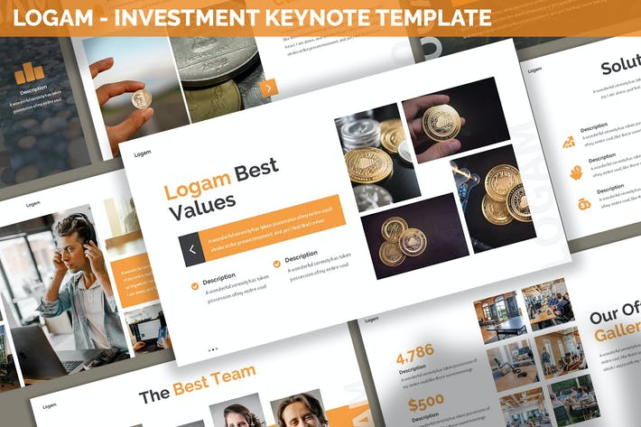 Thumbnail for Logam - Investment Keynote Template