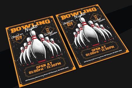 Bowling Night Flyer