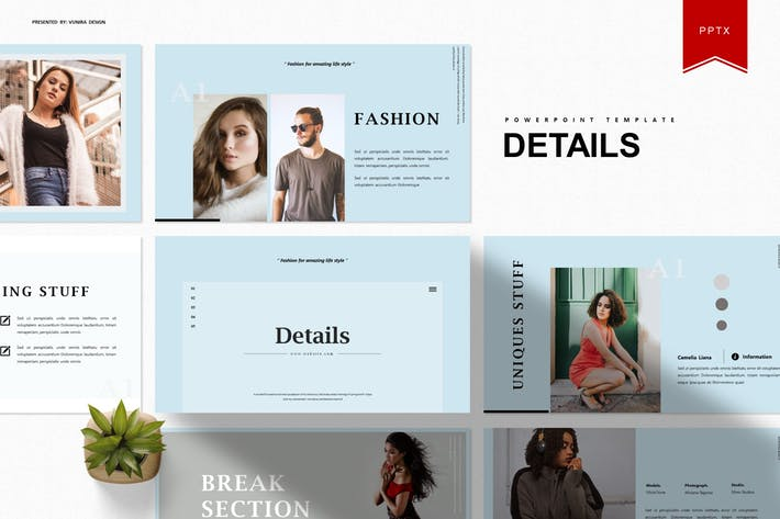 Thumbnail for Details | Powerpoint Template
