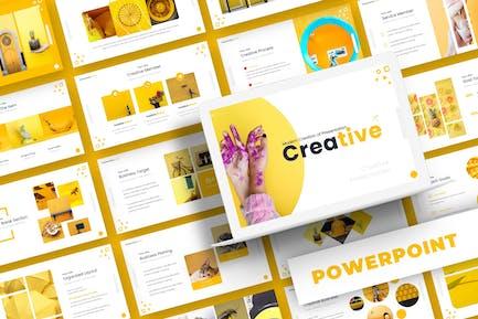 Creative - Powerpoint-Vorlage