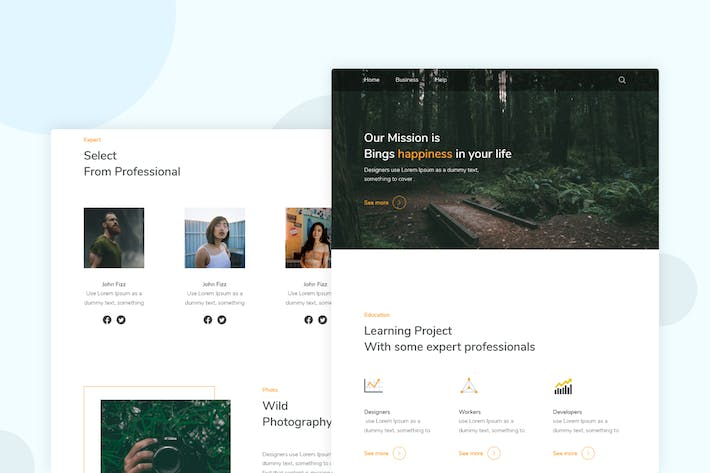 Thumbnail for Photography Professional - Email Newsletter