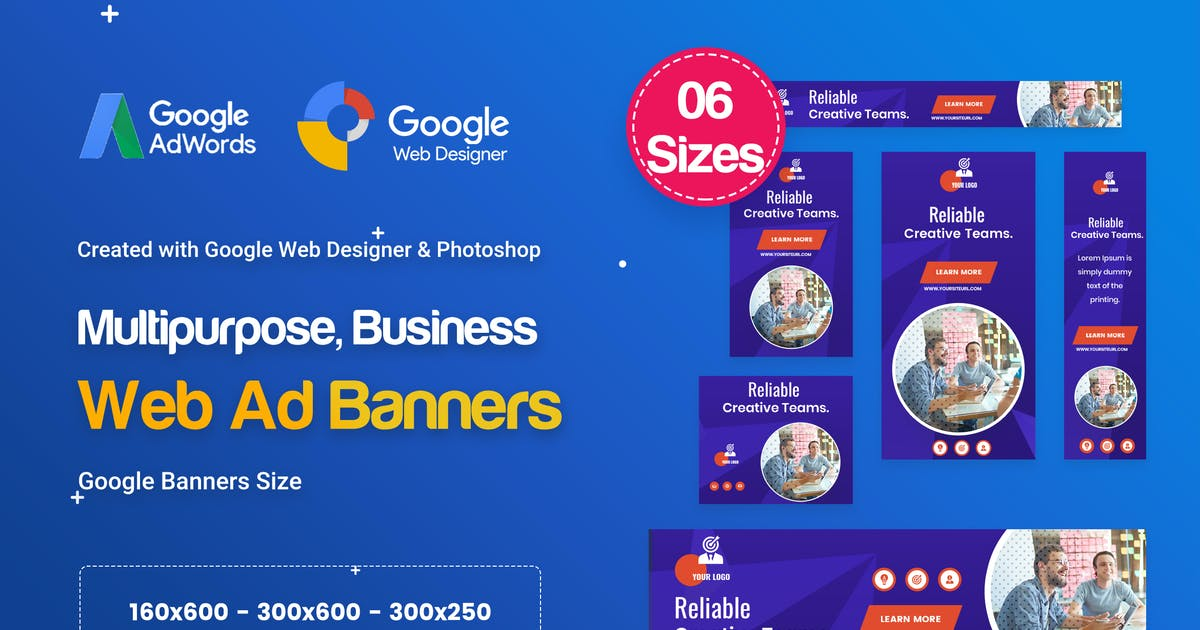 Download Multi-Purpose Banners HTML5 D54 - GWD & PSD by iDoodle