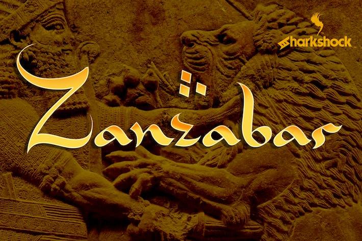 Cover Image For Zanzabar