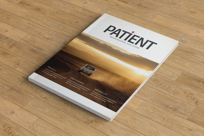 Cover Image For Patient Magazine Templete
