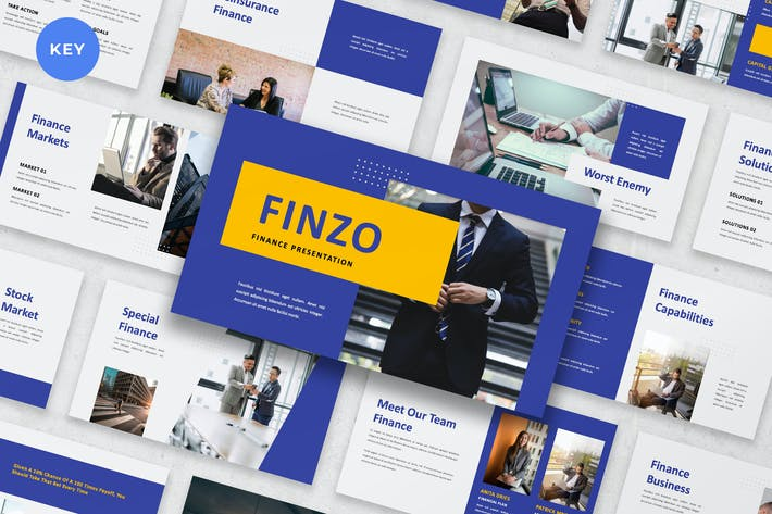 Thumbnail for Finzo - Finance Keynote