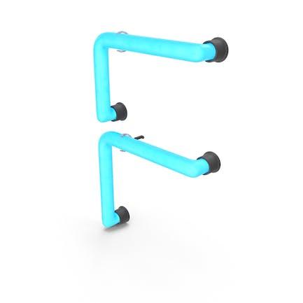 Neonbuchstabe F