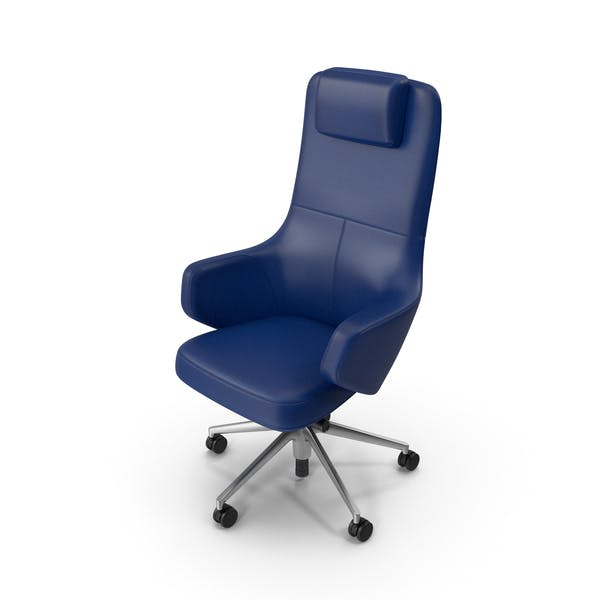 Thumbnail for Office Chair Blue