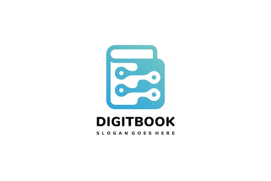 Digital Book Logo