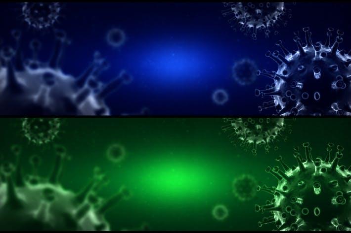 Thumbnail for Coronavirus ( Covid 19 ) Background - Ver2