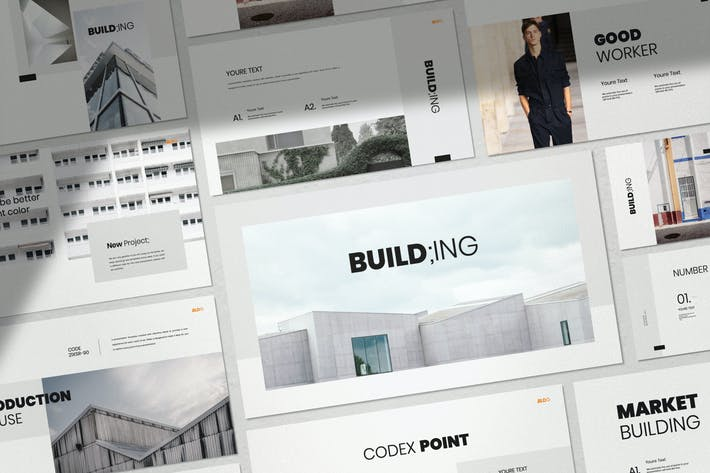 Thumbnail for Building - Business Marketing Keynote