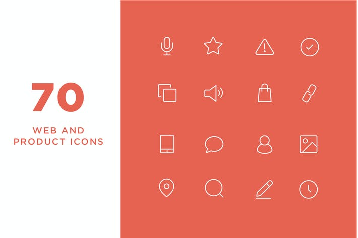 Thumbnail for Minimal Web and Product Icons